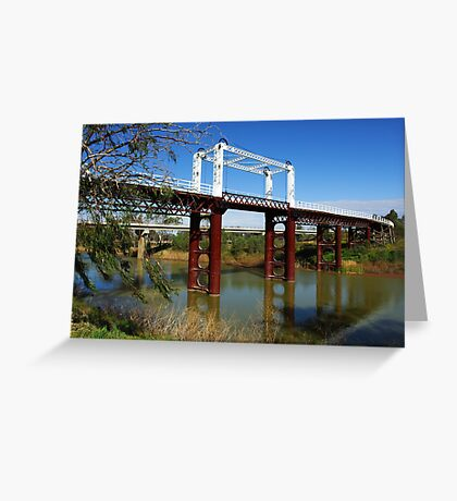 North Bourke Bridge Greeting Card