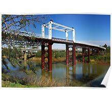 North Bourke Bridge Poster