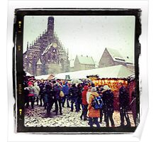 Nuremberg Christmas Market Poster