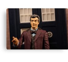 Introducing Peter Capaldi as the Doctor Canvas Print