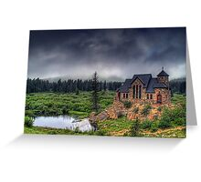 Landscape of the Lord Greeting Card