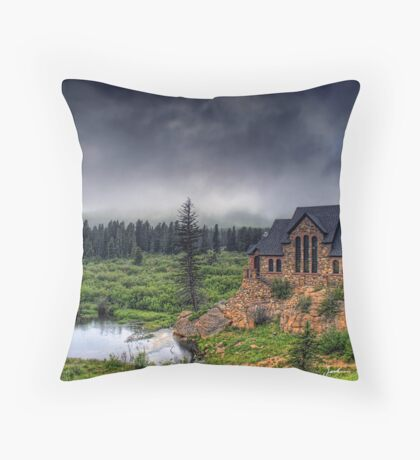 Landscape of the Lord Throw Pillow