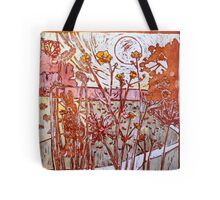 Buttercup Field Hare - antique colours Tote Bag