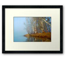 Rivers Edge Framed Print
