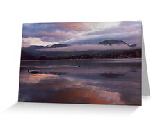 Sunrise - Windermere Greeting Card