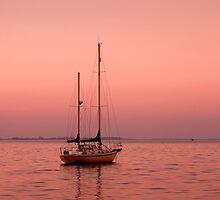 Dawn - Geelong Corio Bay by Hans Kawitzki