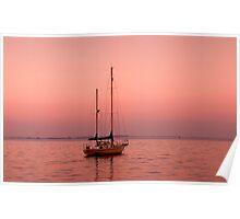 Dawn - Geelong Corio Bay Poster