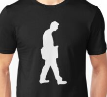 walking off Unisex T-Shirt
