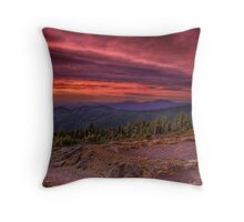 A Sunrise in the Wilderness Throw Pillow