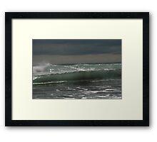 Sea sculpture Framed Print