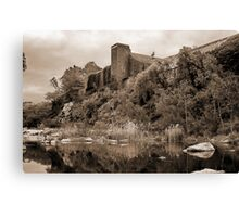 """""""The Old Papermill"""" Canvas Print"""
