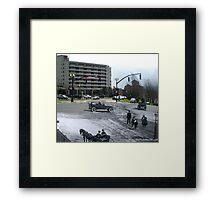 Cavendish Square St. John's, NL - 1930 - 2014 Framed Print
