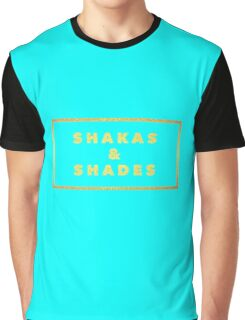 Shakas and Shades 3 stickers Graphic T-Shirt