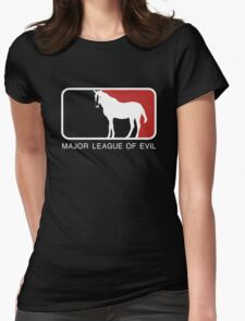 Major League of Evil Womens Fitted T-Shirt