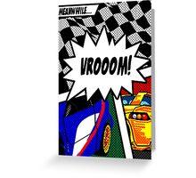 VROOOM! Greeting Card