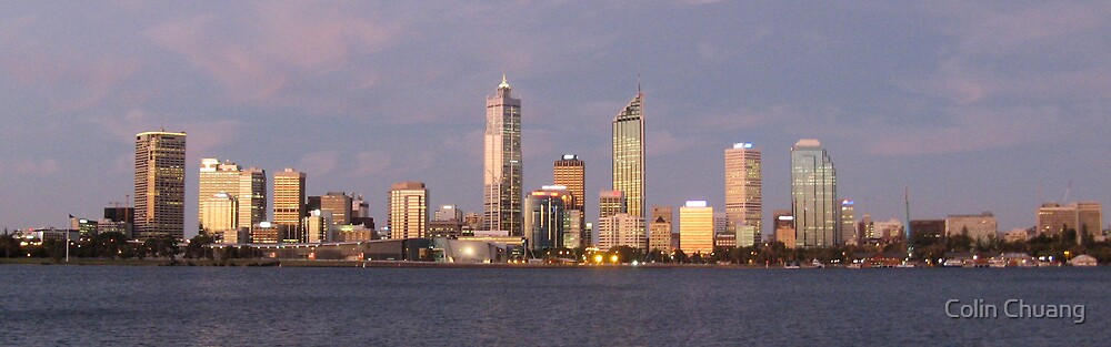 Perth at Dusk by Colin Chuang