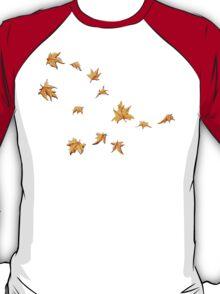 Leaves Pattern T-Shirt