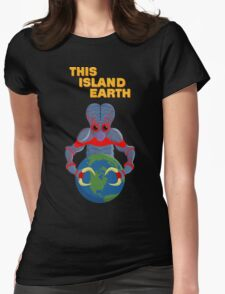 This Island Earth - Metaluna Mutant Womens Fitted T-Shirt
