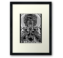 Asian Demon Framed Print