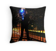 Hunting Light Throw Pillow