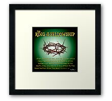 The Ring of the Fellowship Framed Print