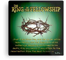The Ring of the Fellowship Metal Print