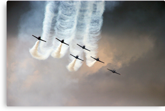 Formation flying by Bob Martin