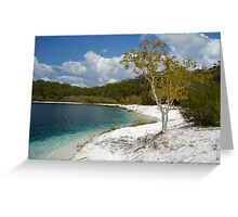 Lake McKenzie Greeting Card