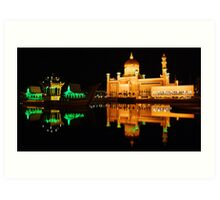 Floating Mosque Art Print