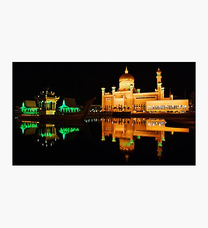 Floating Mosque Photographic Print