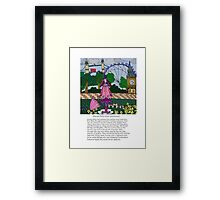 Silly London Framed Print
