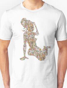 TSHIRT Illustrated Girl T-Shirt