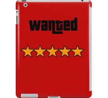 Wanted iPad Case/Skin