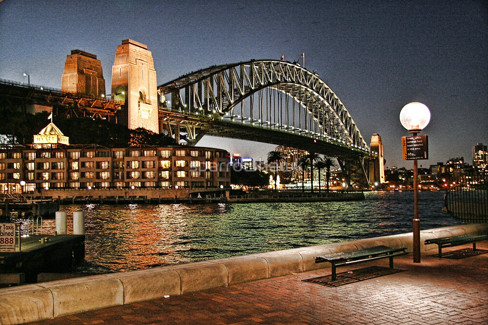 Sydney Series - Harbour Bridge by sparrowhawk