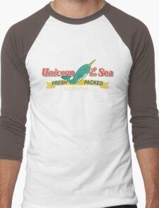 Unicorn of the Sea Men's Baseball ¾ T-Shirt
