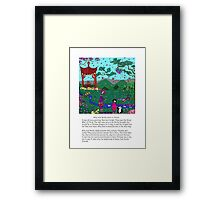 Silly China Framed Print
