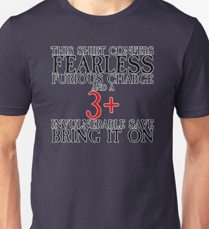 Invulnerable Save Unisex T-Shirt