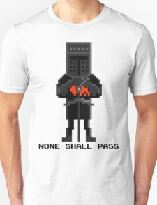 Black Knight - Monty Python and the Holy Pixel T-Shirt