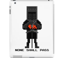 Black Knight - Monty Python and the Holy Pixel iPad Case/Skin