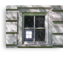 Window Within Canvas Print