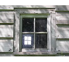 Window Within Photographic Print