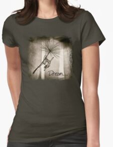 Dreaming of a wish... Womens Fitted T-Shirt