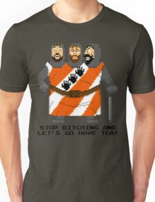 Threed Headed Giant - Monty Python and the Holy Pixel Unisex T-Shirt