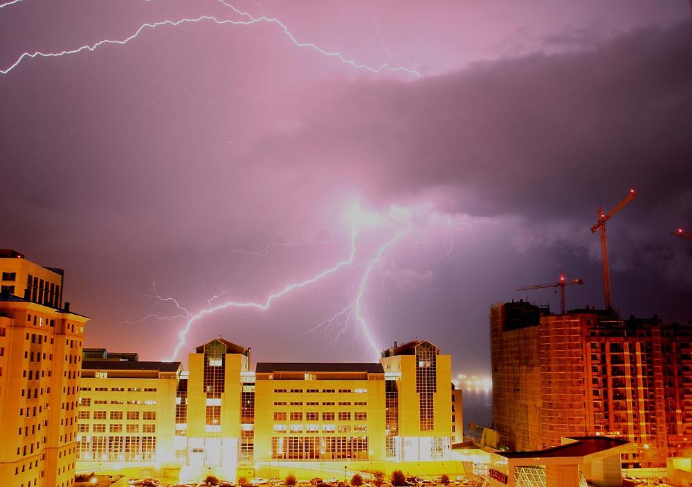 Stormy night by adler
