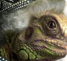 Queen Elizardbeth Sticker