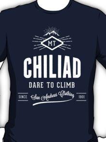 GTA V Mount Chiliad 'Dare to Climb' T-Shirt T-Shirt