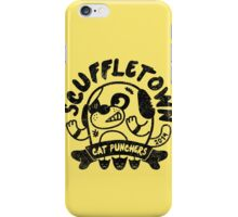 Scuffletown Cat Punchers iPhone Case/Skin