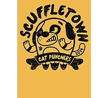 Scuffletown Cat Punchers Photographic Print