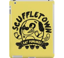 Scuffletown Cat Punchers iPad Case/Skin