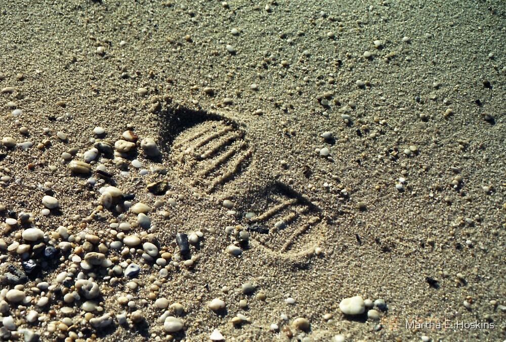 Footprint in the Sand by Martha E. Hoskins